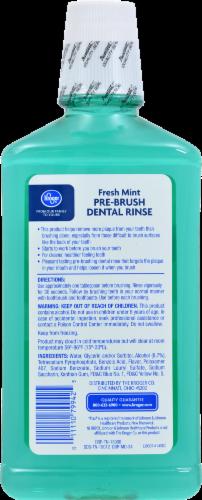 Kroger® Fresh Mint Pre-Brush Dental Rinse Perspective: back