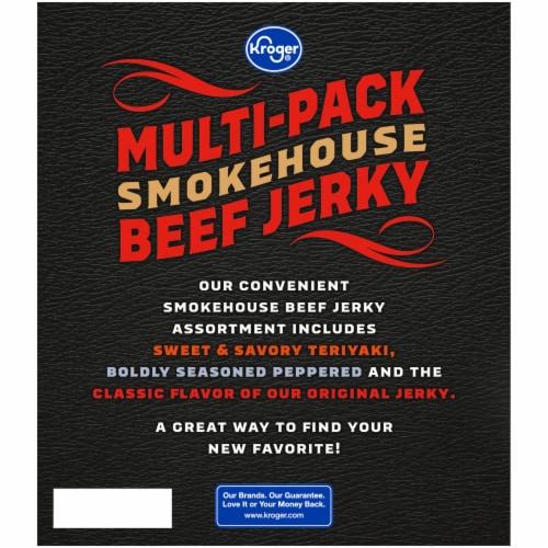 Kroger® Beef Smokehouse Jerky Multi-Pack Perspective: back