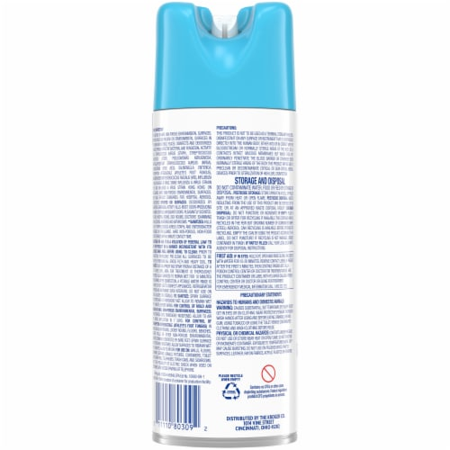 Kroger® Linen Scent Disinfectant Spray Perspective: back