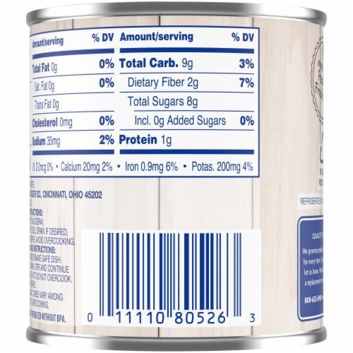 Kroger® No Salt Added Sliced Beets Perspective: back