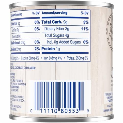 Kroger® No Salt Added Sliced Carrots Perspective: back