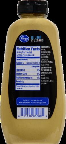 Kroger® Dijon Mustard Perspective: back