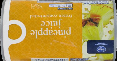 Kroger® Frozen 100% Pineapple Juice Perspective: back