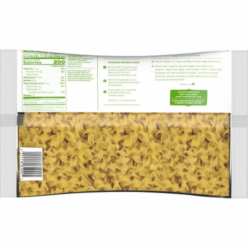 Simple Truth Organic™ Wide Egg Noodles Perspective: back