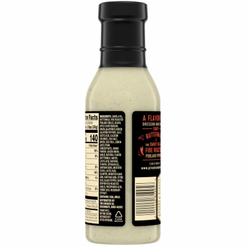 Private Selection® Fire Roasted Poblano Ranch Dressing Perspective: back