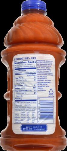 Kroger® 100% Vegetable Juice Perspective: back