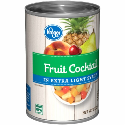 Kroger® Fruit Cocktail in Extra Light Syrup Perspective: back