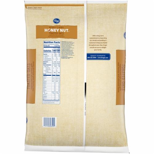 Kroger® Honey Nut Toasted Oats Cereal Perspective: back