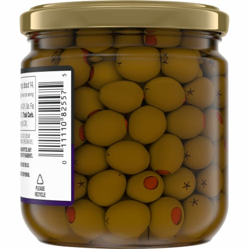 Kroger® Manzanilla Olives Stuffed with Pimiento Perspective: back