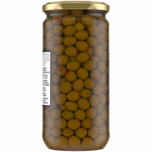 Kroger® Queen Olives Stuffed with Pimiento Perspective: back
