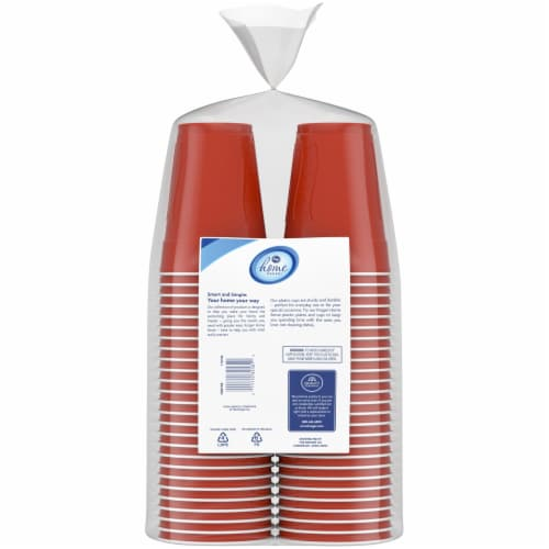 Kroger® 18-Ounce Textured Plastic Cups Perspective: back