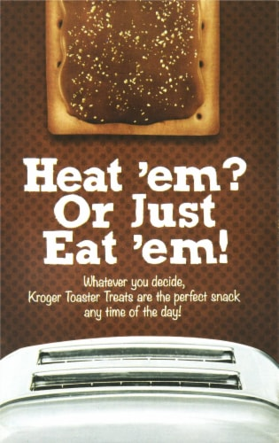 Kroger® Chocolate Fudge Frosted Toaster Treats Perspective: back