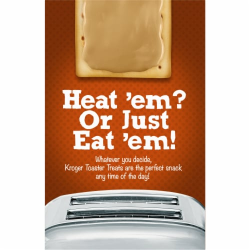 Kroger® Frosted Brown Sugar Cinnamon Toaster Treats Perspective: back