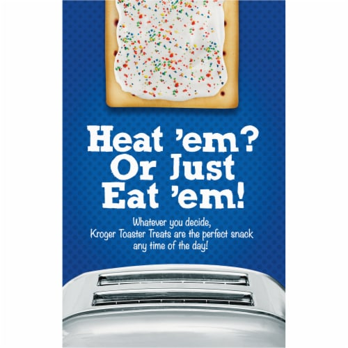 Kroger® Frosted Blueberry Toaster Treats Perspective: back