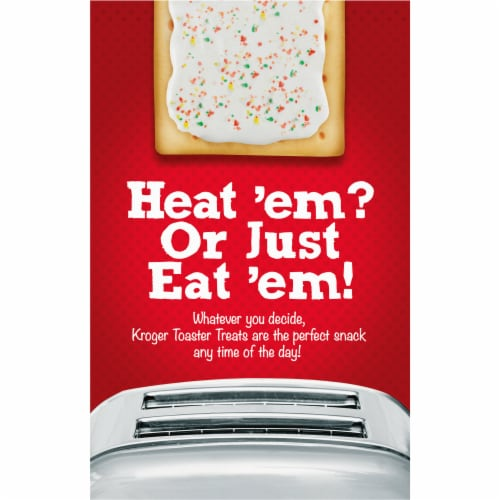 Kroger® Frosted Strawberry Toaster Treats Perspective: back
