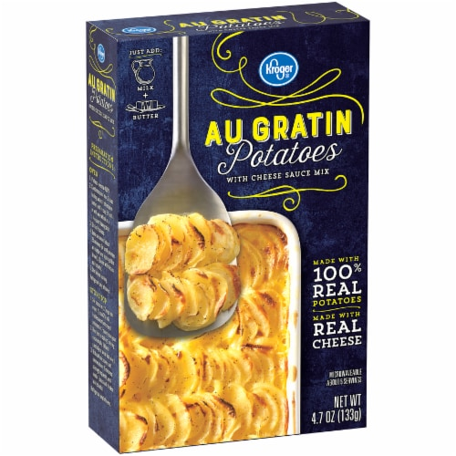 Kroger® Au Gratin Potatoes with Cheese Sauce Mix Perspective: back