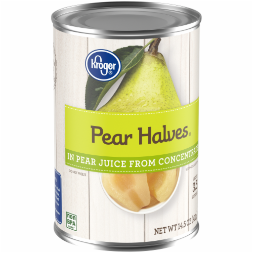 Kroger®  Pear Halves in Pear Juice from Concentrate Perspective: back