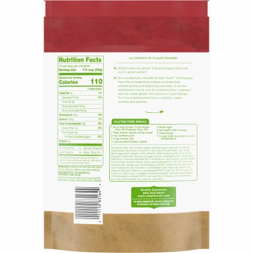 Simple Truth™ Gluten Free All-Purpose Flour Mix Perspective: back
