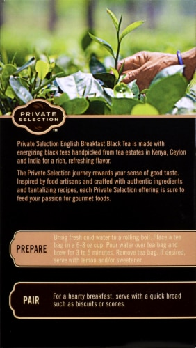 Private Selection™ English Breakfast Black Tea Perspective: back