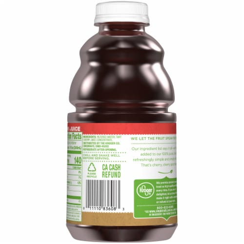 Simple Truth™ 100% Tart Cherry Juice Perspective: back