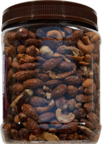 Kroger® Deluxe Sea Salt Mixed Nuts Perspective: back