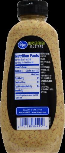 Kroger® Horseradish Mustard Perspective: back