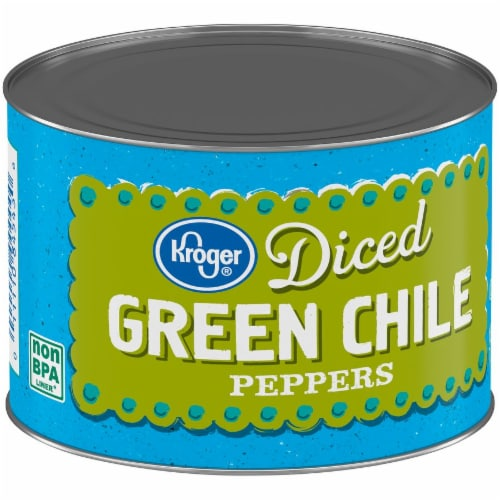 Kroger® Diced Green Chile Peppers Perspective: back