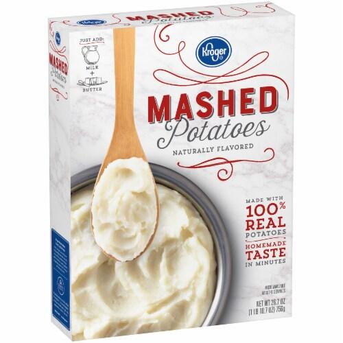 Kroger® Instant Mashed Potatoes Perspective: back