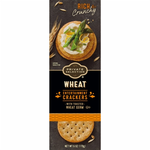 Private Selection® Wheat Entertainment Crackers Perspective: back