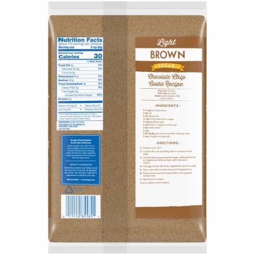 Kroger® Light Brown Sugar Perspective: back