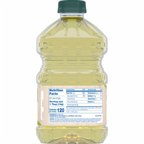 Kroger® Pure Canola Oil Perspective: back