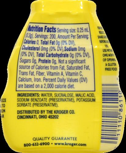 Kroger® Apriva™ Gluten Free Zero Calorie Liquid Sweetener with Sucralose Perspective: back