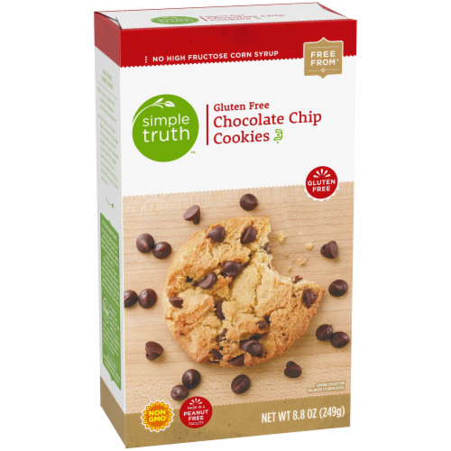 Simple Truth™ Gluten Free Chocolate Chip Cookies Perspective: back