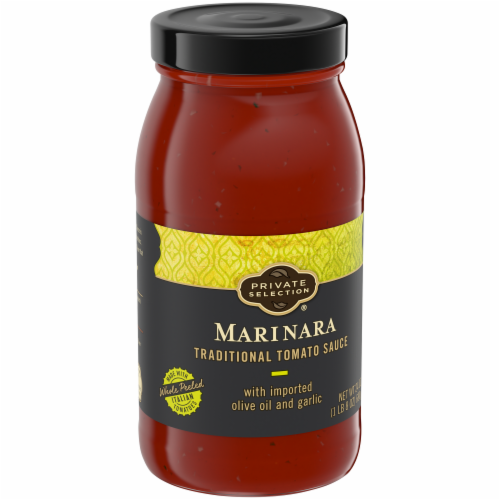 Private Selection® Marinara Traditional Tomato Sauce Perspective: back