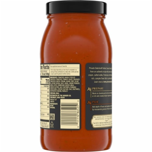Private Selection™ Vodka Sauce Perspective: back