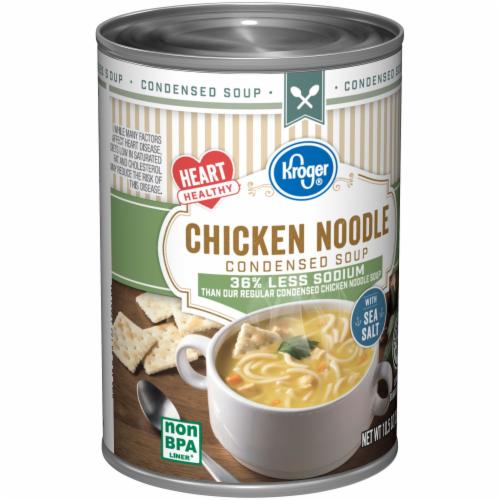 Kroger® Reduced Sodium Chicken Noodle Condensed Soup Perspective: back