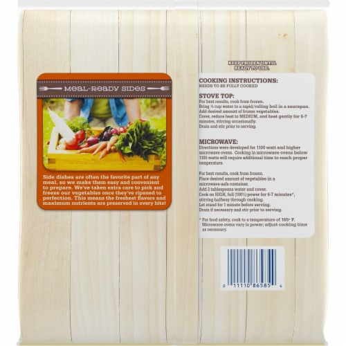 Kroger® Meal-Ready Sides Mixed Vegetables Perspective: back