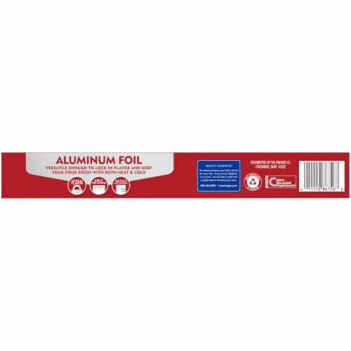 Kroger® Aluminum Foil Perspective: back