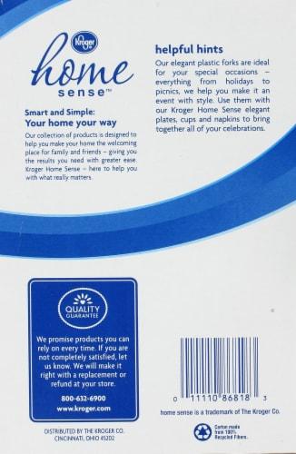 Kroger® Home Sense™ Elegant Plastic Forks Perspective: back