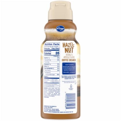 Kroger® Hazelnut Coffee Creamer Perspective: back