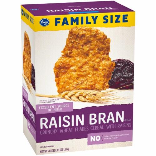 Kroger® Raisin Bran Crunchy Cereal Perspective: back