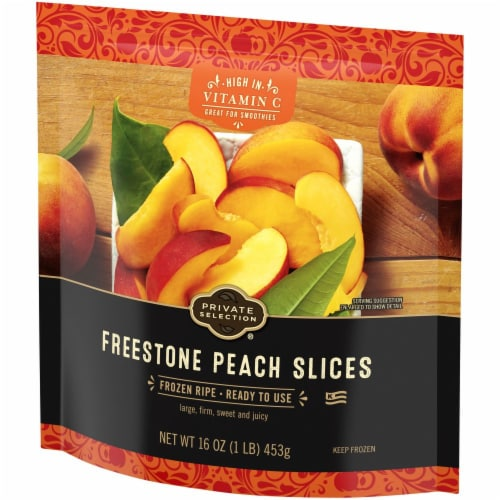 Private Selection® Freestone Peach Slices Perspective: back