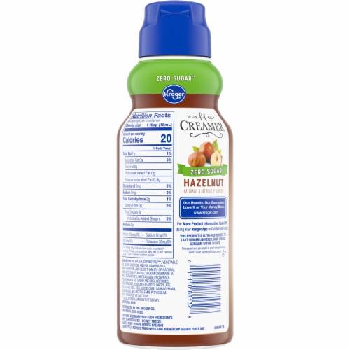 Kroger® Sugar Free Hazelnut Coffee Creamer Perspective: back