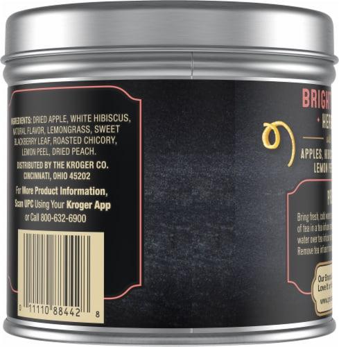Private Selection® Peach Lemon Loose Leaf Herbal Tea Perspective: back