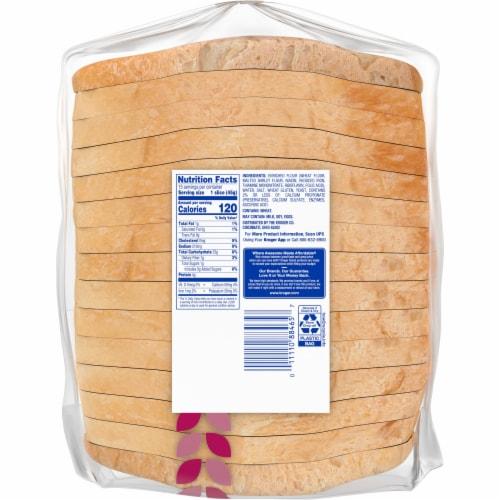 Kroger® Sliced Sourdough Bread Perspective: back