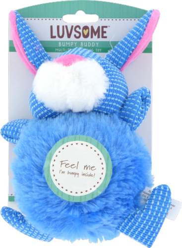 Luvsome™ Bumpy Buddy Dog Toy - Assorted Perspective: back