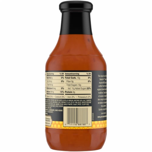 Private Selection™ Carolina Inspired BBQ Sauce Perspective: back