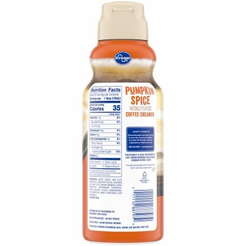 Kroger® Pumpkin Spice Coffee Creamer Perspective: back