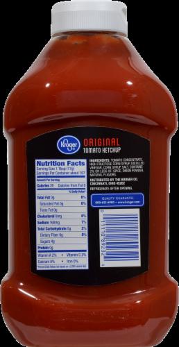 Kroger® Original Tomato Ketchup Perspective: back