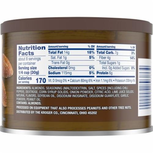Kroger® Chili Lime Seasoned Almonds Perspective: back